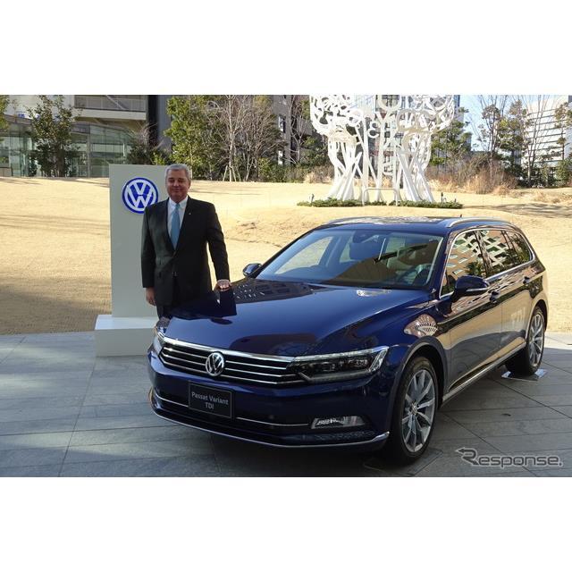 フォルクスワーゲン・グループ・ジャパン(VWジャパン)は2月14日、クリーンディーゼルエンジンを搭載した...