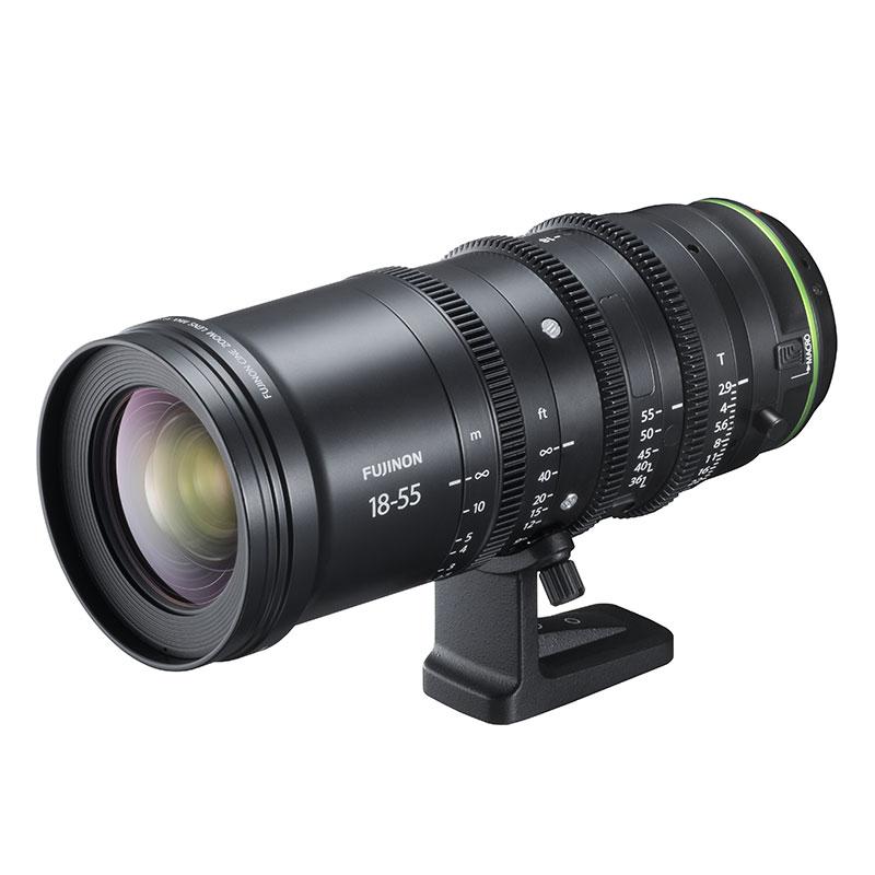 フジノンレンズ MKX18-55mmT2.9