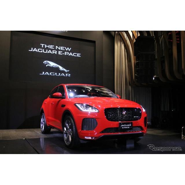 ジャガー・ランドローバー・ジャパンは新型コンパクト・パフォーマンスSUVのジャガー『E-PACE』を発表した...