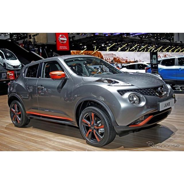 日産自動車の欧州法人、欧州日産はジュネーブモーターショー2018において、『ジューク』の改良新型モデルを...