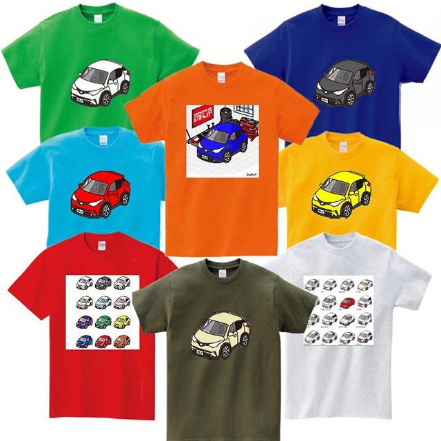 「車種別カスタムTシャツ」シリーズ