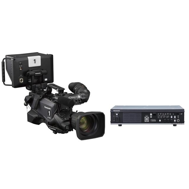 4Kスタジオカメラとカメラコントロールユニット