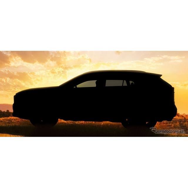 トヨタRAV4新型のティザーイメージ