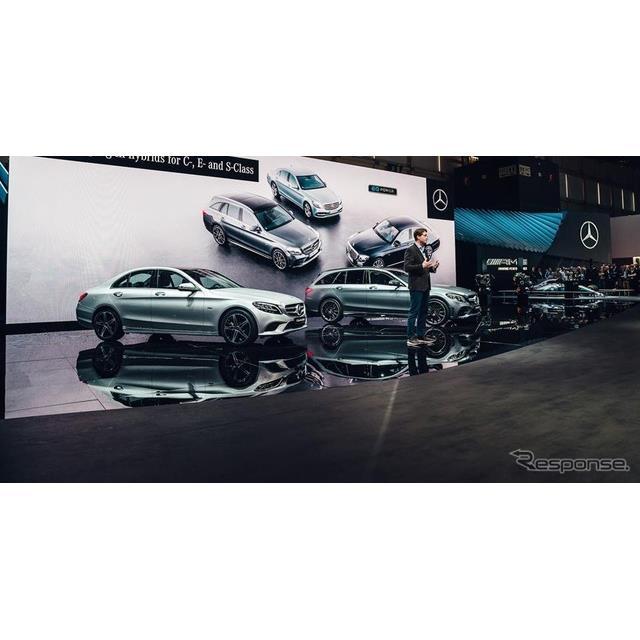 メルセデスベンツ Cクラス 改良新型(ジュネーブモーターショー2018)