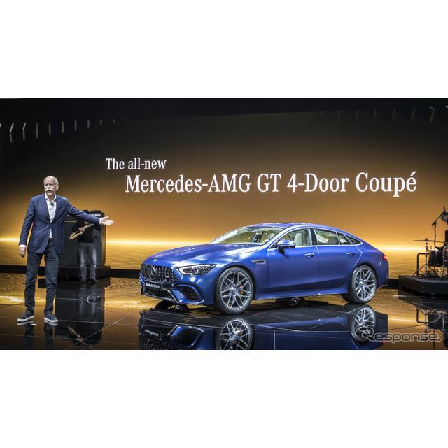 メルセデス AMG GT クーペ (ジュネーブモーターショー2018)