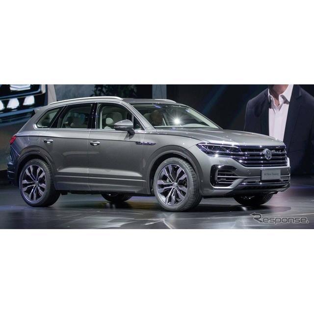 フォルクスワーゲンは、中国北京市で初公開した新型『トゥアレグ』に、最新の先進運転支援システム(ADAS)...