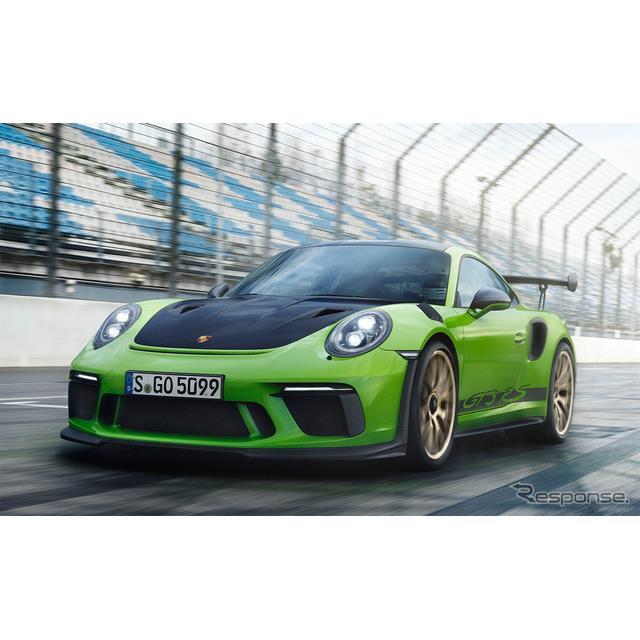 ポルシェジャパンは、ジュネーブモーターショーで世界初公開された改良新型『911GT3 RS』の予約受注を3月28...