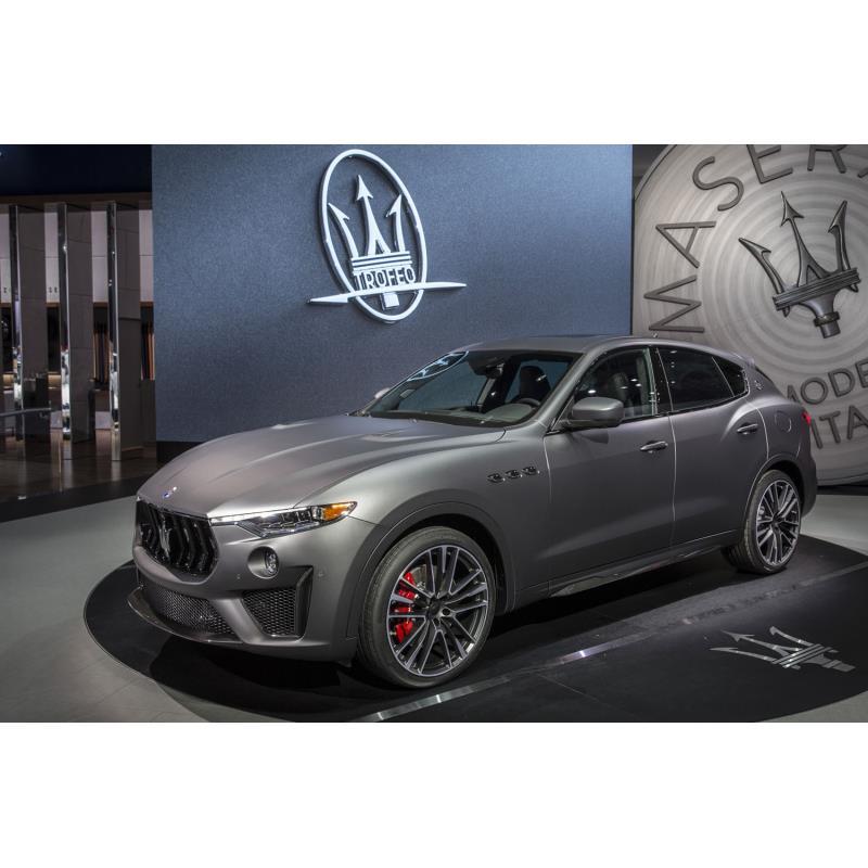 伊マセラティは2018年3月28日(現地時間)、ニューヨーク国際自動車ショーで高性能SUV「レヴァンテ トロフ...