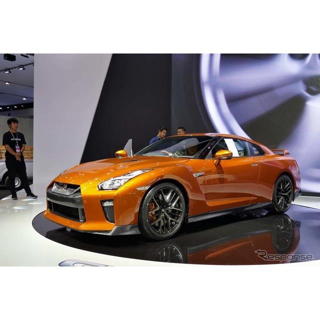 日産が誇るハイパフォーマンス・スポーツカー『GT-R』。ここタイでもSUPER GT(2014-15年 GT500クラス)で2...