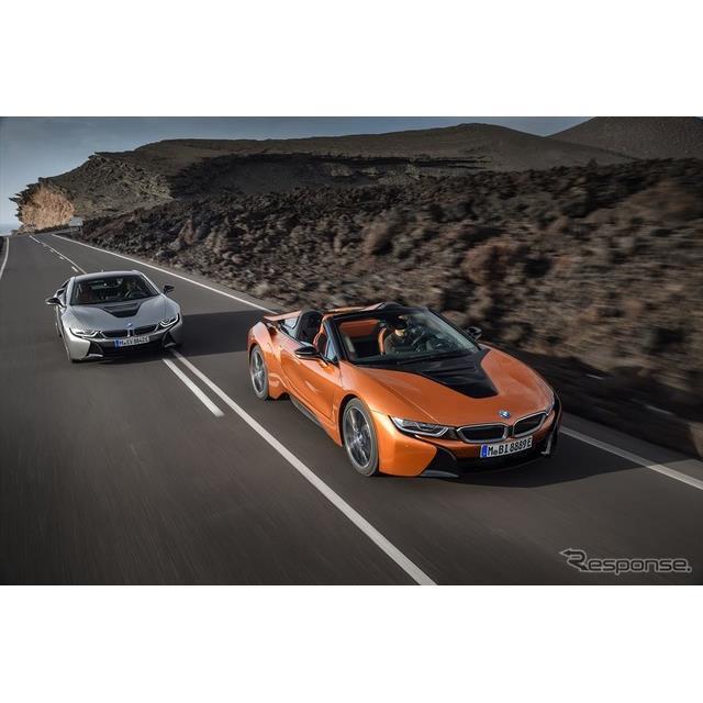 ビー・エム・ダブリュー(BMWジャパン)は、PHEVスポーツカー新型『i8』および新モデル『i8ロードスター』...