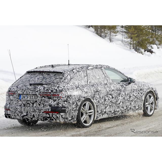 新型アウディ『A6アバント』に設定される高性能モデル『S6アバント』の新情報を入手。その姿をカメラに収め...