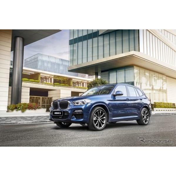 BMWは、中国で4月25日に開幕する北京モーターショー2018で初公開する新型『X3』の中国仕様車に、最新の先進...