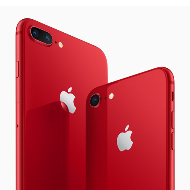 「iPhone 8/8 Plus (PRODUCT)RED Special Edition」