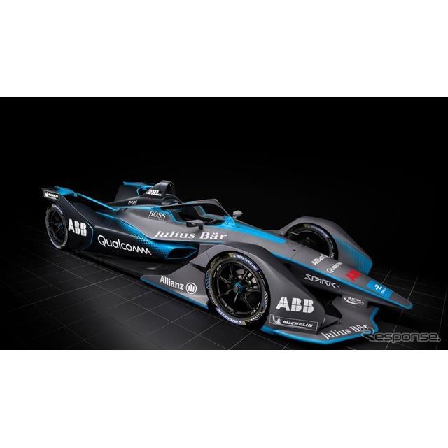 フォーミュラEの最新レーシングカー(参考画像)