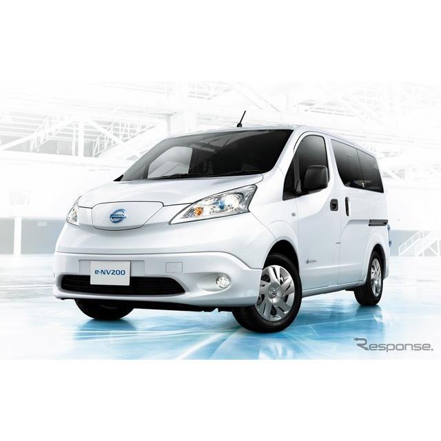 日産自動車は4月19日、商用電気自動車(EV)『e-NV200』を仕様向上し、注文受付を開始すると発表した。発売...