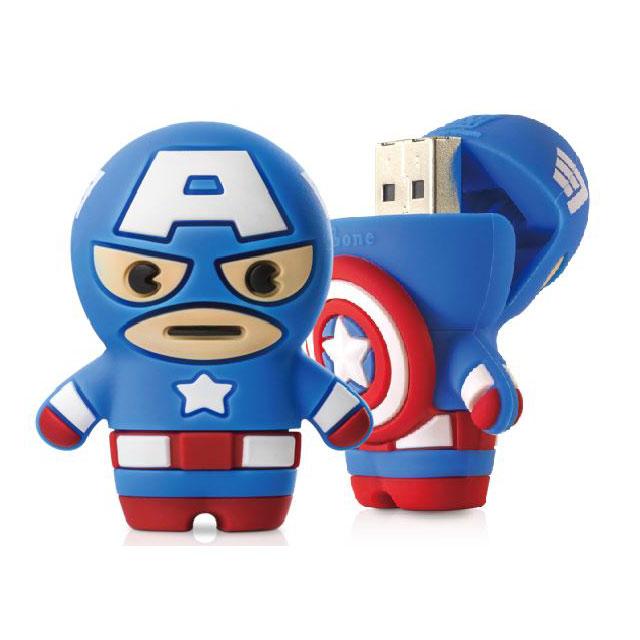 Bonecollection USB3.0 USBメモリー MARVEL キャプテンアメリカ