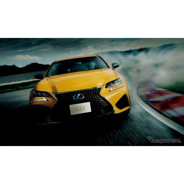 レクサスは、高性能セダン『GS F』を一部改良し、5月10日より販売を開始した。  GS Fは、V型8気筒エンジ...
