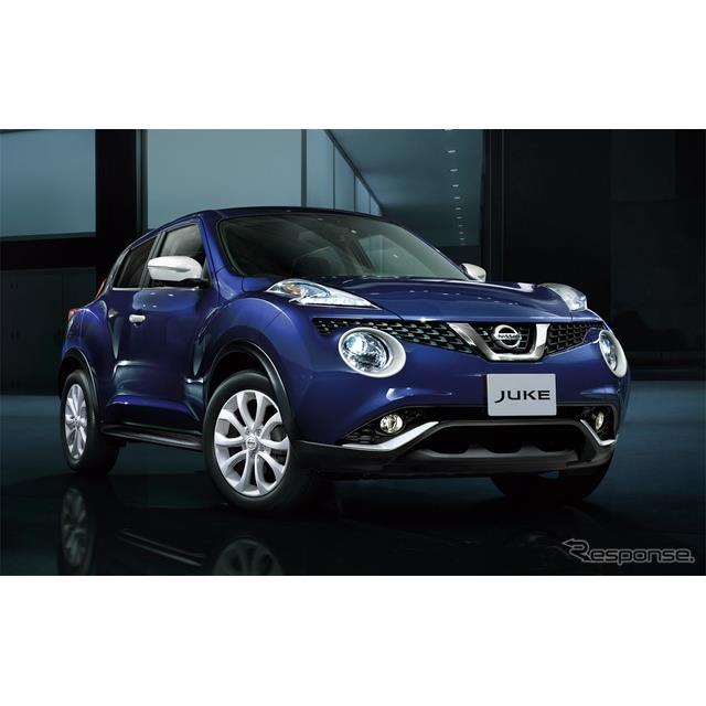 日産自動車は、コンパクトクロスオーバー『ジューク』を一部、仕様向上し、5月11日より販売を開始した。 ...
