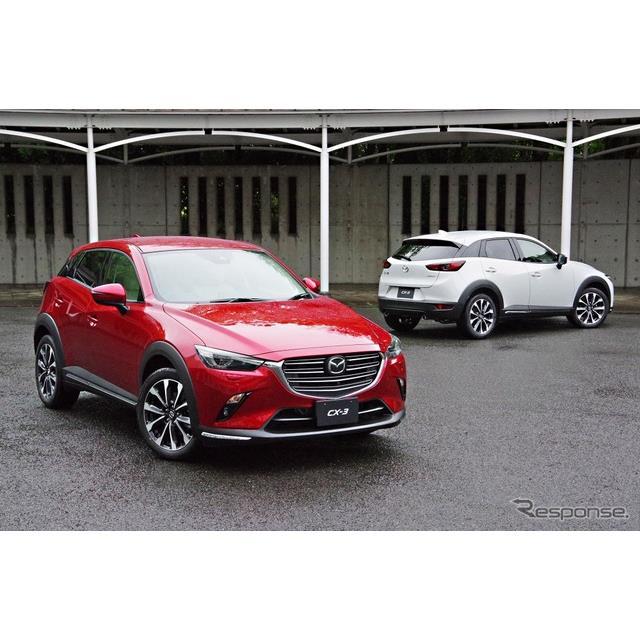 マツダは5月17日、『CX-3』の大幅商品改良モデルを発表した。デビュー後3年3か月で4回目の改良である。新開...