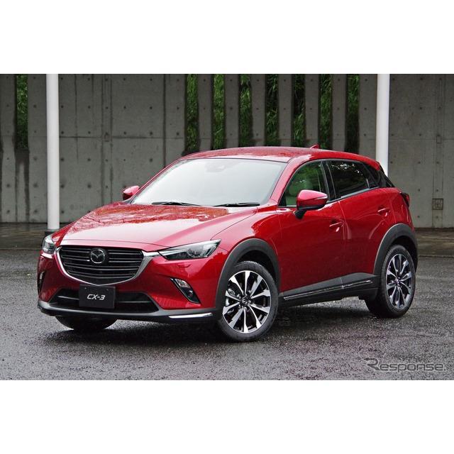 マツダは5月17日、『CX-3』の大幅商品改良モデルを発表した。4度目の改良となる今回は、初めてデザインにも...