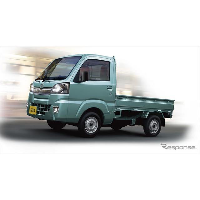 トヨタ自動車は、軽商用車『ピクシストラック』を一部改良し、6月1日より発売する。  今回の一部改良では...