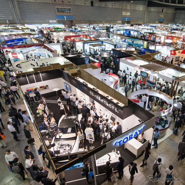 人とくるまのテクノロジー展2017横浜の様子