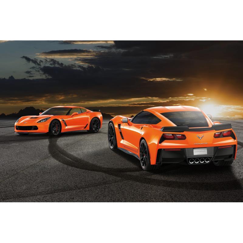 「シボレー・コルベット グランスポーツ?セブリングオレンジ65エディション」