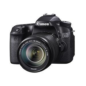 「デュアルピクセルCMOS AF」に関する発明が初めて搭載された一眼レフカメラ 「EOS 70D」(2013年8月発売)
