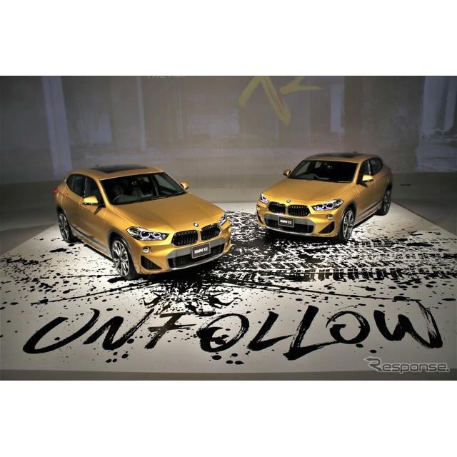 ビー・エム・ダブリュー(BMWジャパン)は、SAV(スポーツアクティビティビークル)の『X2』を発表した。『...