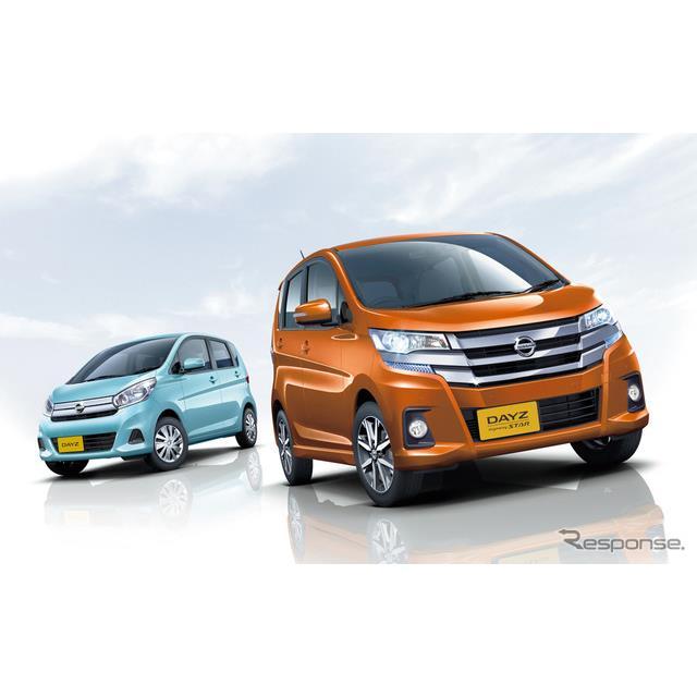 日産自動車は、軽自動車『デイズ』および『デイズルークス』の一部を仕様向上し、5月28日より販売を開始し...