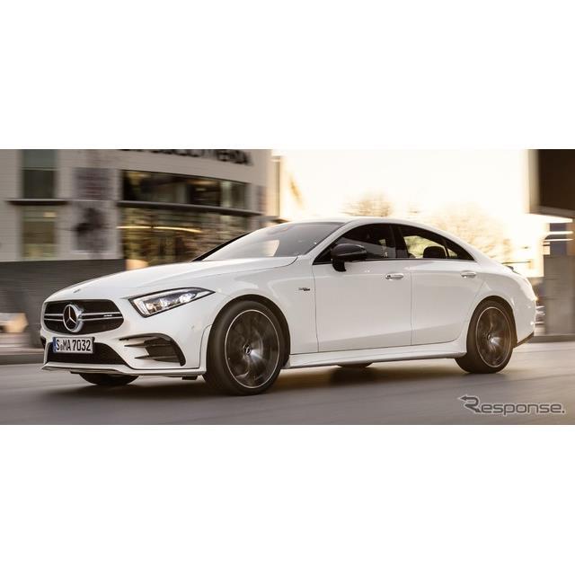 メルセデスベンツの高性能車部門、メルセデスAMGは5月28日、新型『CLSクーペ』の高性能マイルドハイブリッ...