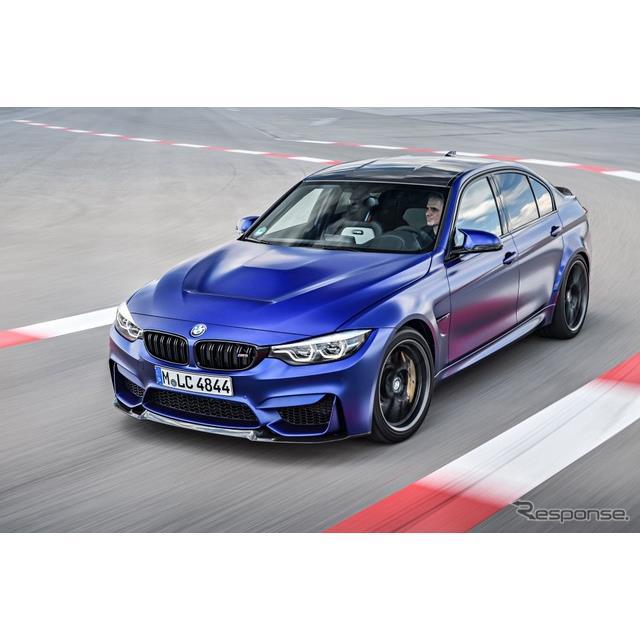 BMW M3 に最強の「CS」、460hp仕様を欧州で発売