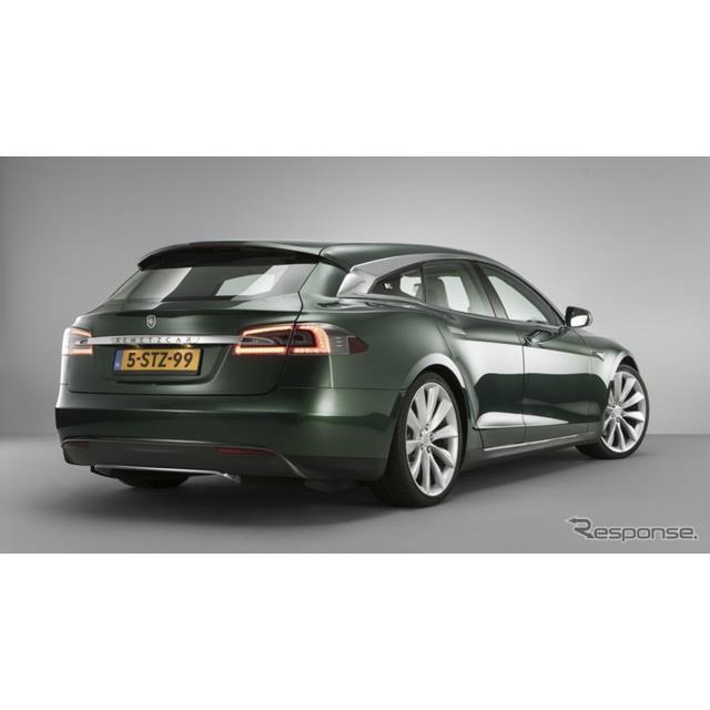 オランダに本拠を置くRemetzCarは5月28日、テスラ『モデルS』のシューティングブレークを発表した。  米...