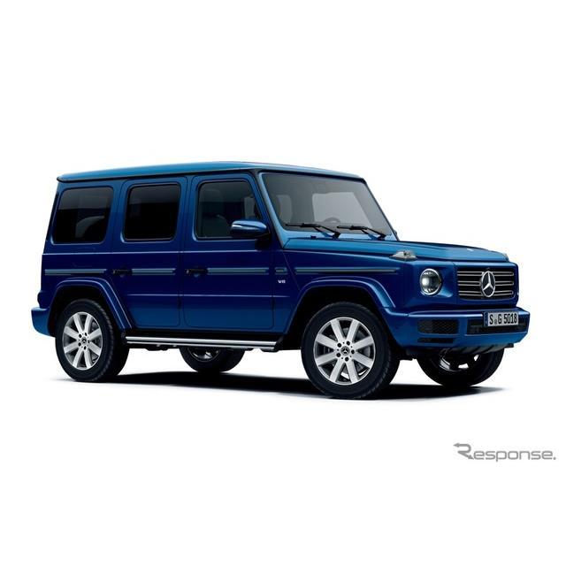 メルセデスベンツGクラス新型(G550)