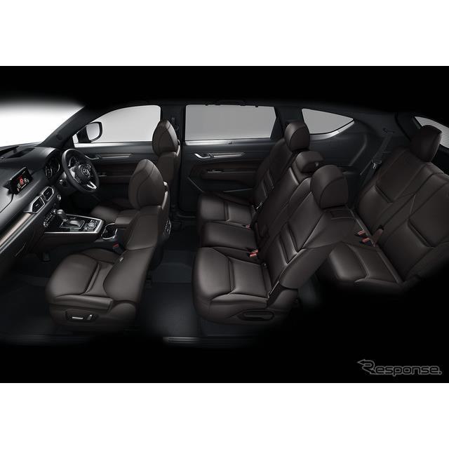 マツダは、昨2017年末に発売した3列シートクロスオーバーSUV『CX-8』の最上級グレード「XD Lパッケージ」に...