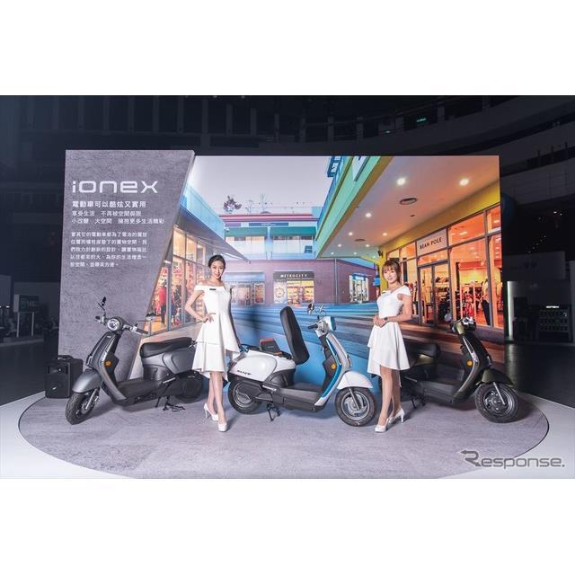 キムコ iONEX初搭載の新型EVスクーター