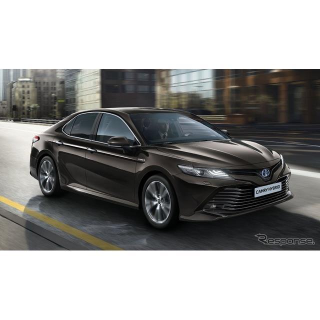 トヨタ自動車の欧州部門、トヨタモーターヨーロッパは6月21日、『カムリ』を14年ぶりに西欧市場に投入する...