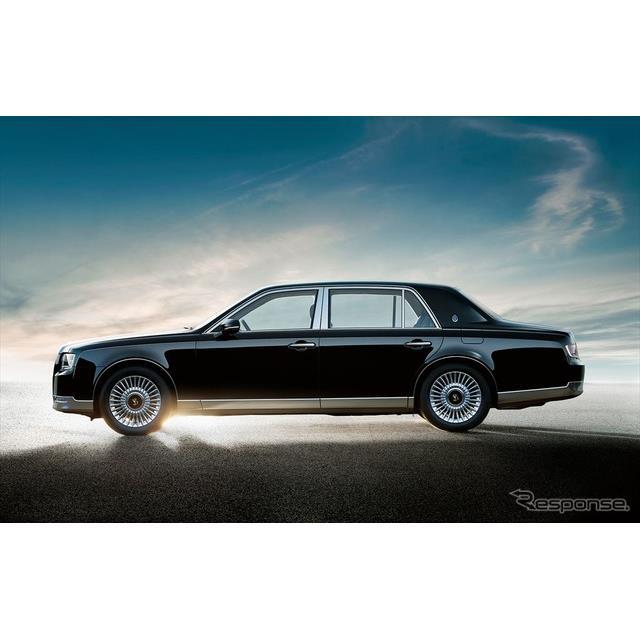 トヨタ自動車は、最高級乗用車(ショーファーカー)『センチュリー』を21年ぶりにフルモデルチェンジし、6...