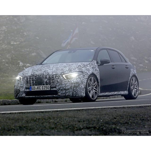 4月にワールドプレミアとなったばかりの新型メルセデスベンツ『Aクラス』。その頂点に設定される『AMG A45...