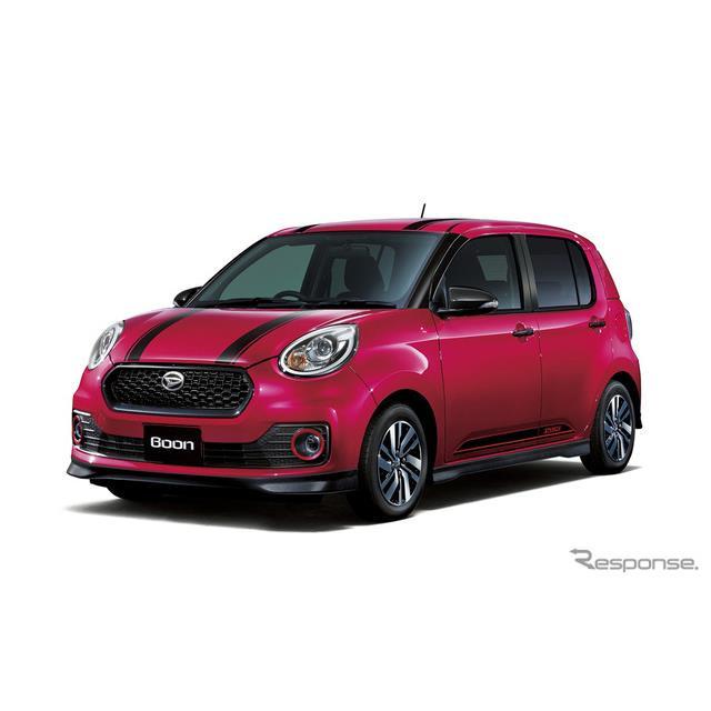 ダイハツは、小型乗用車『ブーン』の上級グレード「シルク」に、新たなメーカーオプション「D-チューン エ...