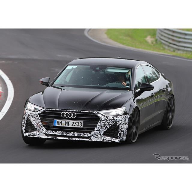 アウディのラグジュアリー・サルーン『A7スポーツバック』新型に設定されるハイパフォーマンスモデル、『RS...
