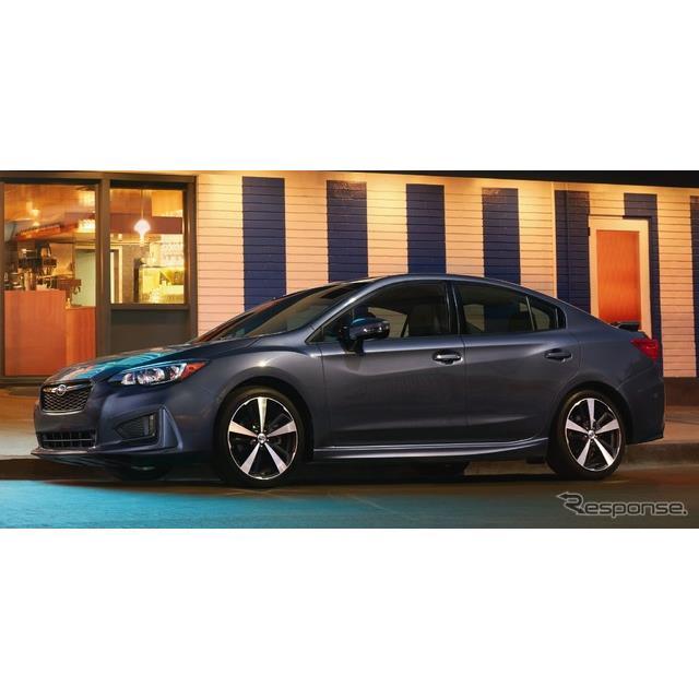 SUBARU(スバル)の米国法人、スバルオブアメリカは7月6日、『インプレッサ』の2019年モデルに、最新の車載...