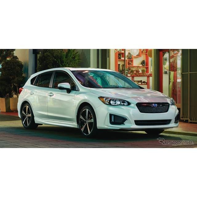 SUBARU(スバル)の米国法人、スバルオブアメリカは7月6日、『インプレッサ』の2019年モデルの米国価格を発...