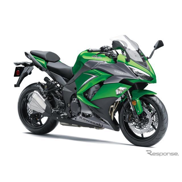 Ninja 1000/エメラルドブレイズドグリーン×メタリックマットグラファイトグレー