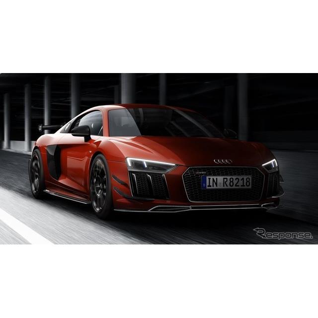 アウディは7月10日、『R8』(Audi R8)に「アウディスポーツパフォーマンスパッケージ」を世界限定44台で設...