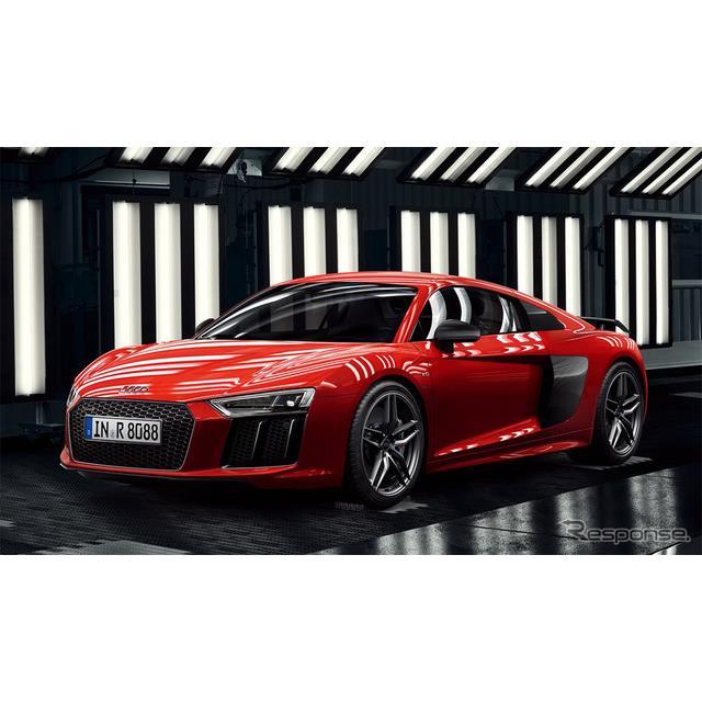 アウディジャパンは、フラッグシップスポーツ『R8』および『R8スパイダー』(Audi R8, R8 Spyder)の装備を...