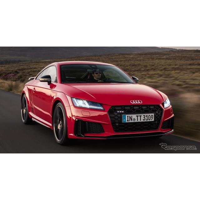 独アウディは7月18日、『TTクーペ』(Audi TT Coupe)と『TTロードスター』(Audi TT Roadster)の改良新型...