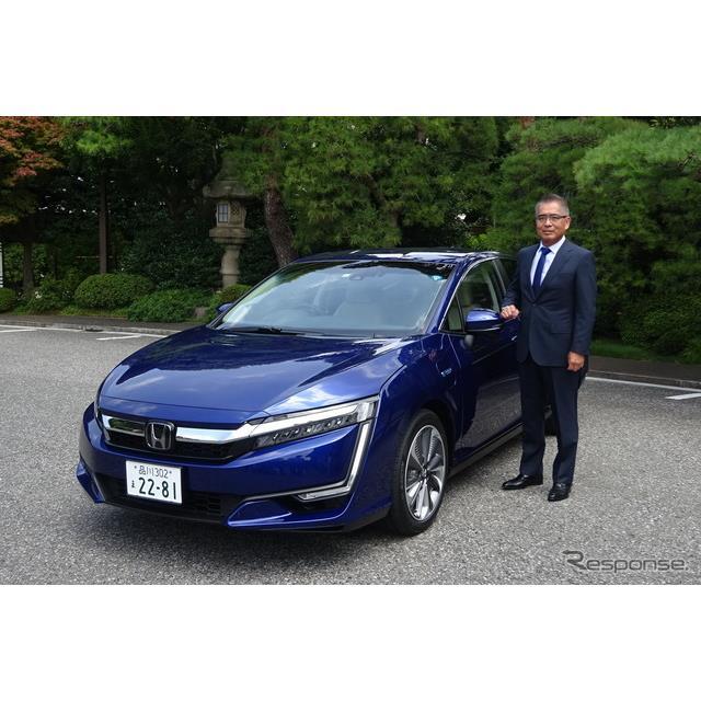 ホンダは7月19日、プラグインハイブリッド車の『クラリティPHEV(CLARITY PHEV)』を日本で20日に発売する...