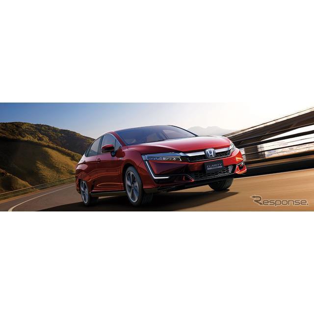 ホンダは、新型プラグインハイブリッドモデル『クラリティPHEV』(Honda Clarity PHEV)を7月20日に発売す...