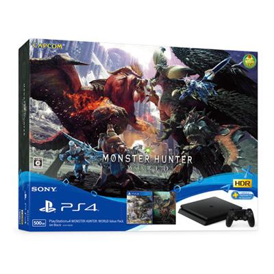 「PlayStation4 MONSTER HUNTER: WORLD Value Pack」